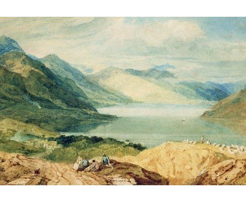 Magnolia Box Loch Lomond by J.M.W. Turner Art Print on Canvas #lochlomond