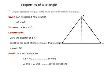 Congruence of Triangle (Quick Math Review Presentation and