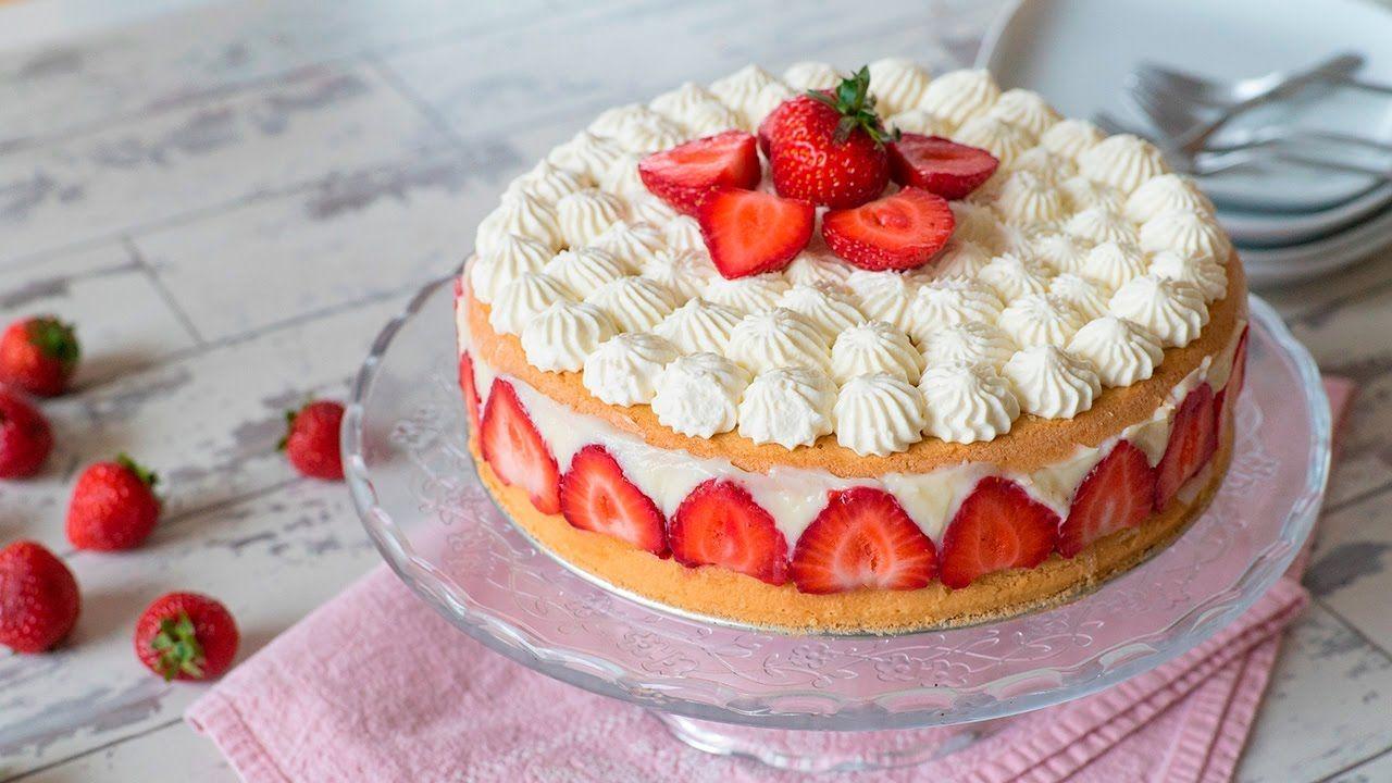 Çilekli Pasta – Fraisier