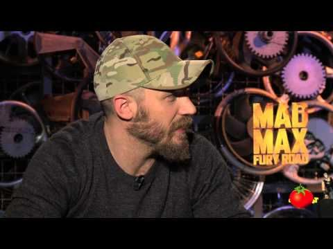 Mad Max: Fury Road Interview:  Tom Hardy Gets Strapped to a Car