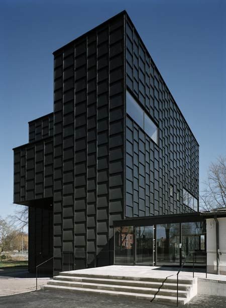 Kalmar Museum of Modern Art in Sweden was designed by Stockholm-based architects Tham + Videgard Hansson Arkitekter.