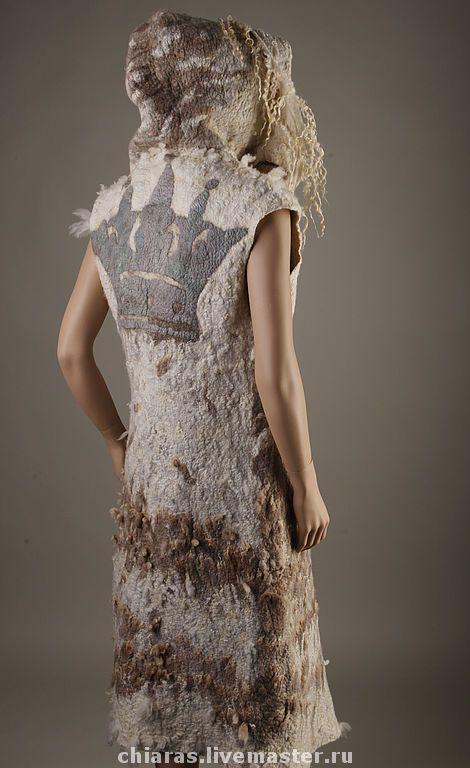 """Верхняя одежда ручной работы. Ярмарка Мастеров - ручная работа пальто """"капучино для Принцессы"""". Handmade."""