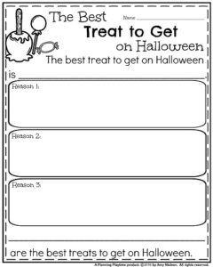October Kindergarten Worksheets | Kindergarten worksheets, Opinion ...