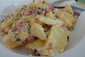 Schmandkartoffeln 2   - Vorspeisen & Hauptspeisen Pasta  Reis  Fleisch  Grillen Salate -