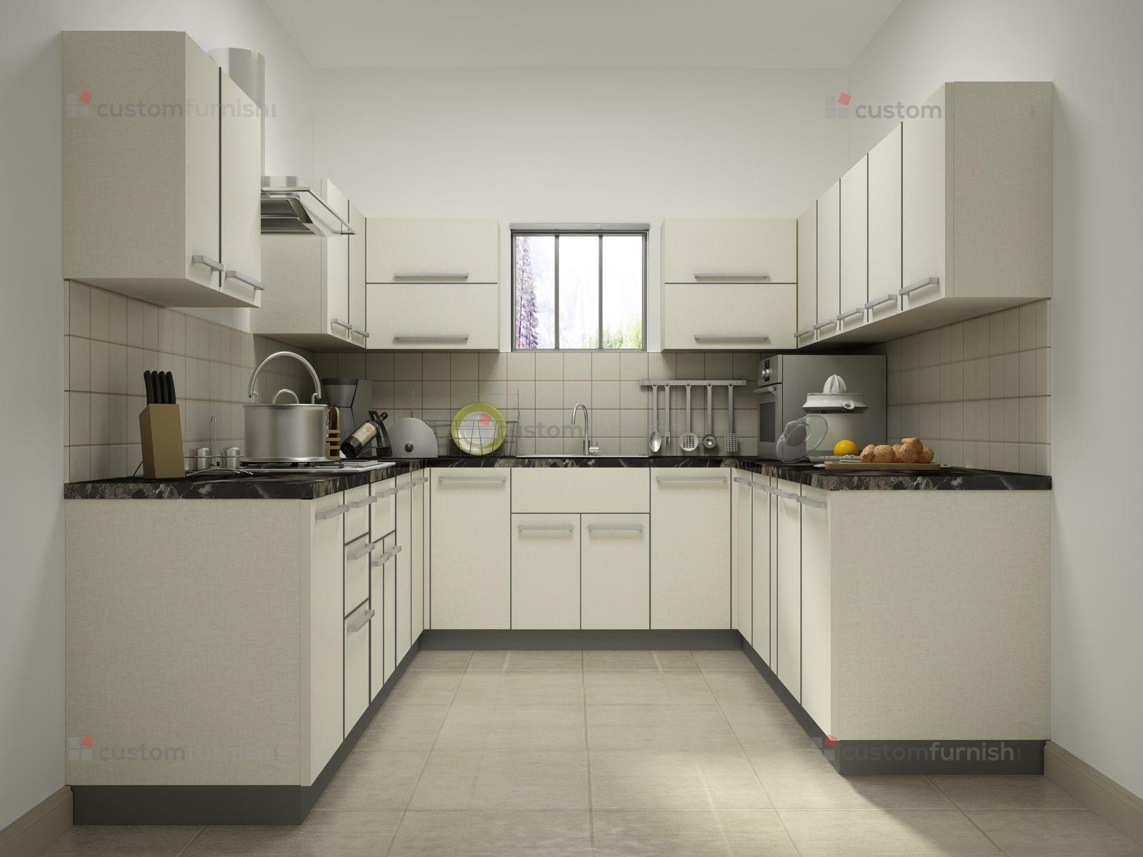 White U Shaped Design Best Kitchen Layout Kitchen Designs Layout Kitchen Design