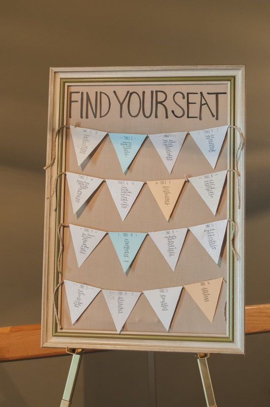 seating chart - rustic wedding Photo By Svetlana Yanova Photography