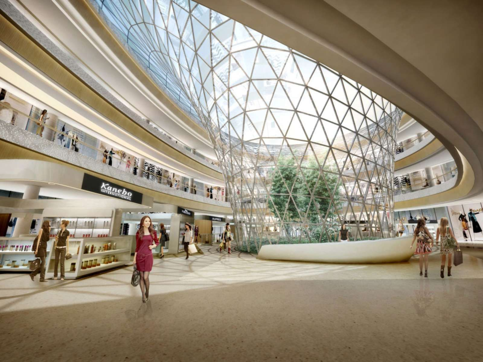 Haitang Bay International Shopping Centre By Hassell With Images