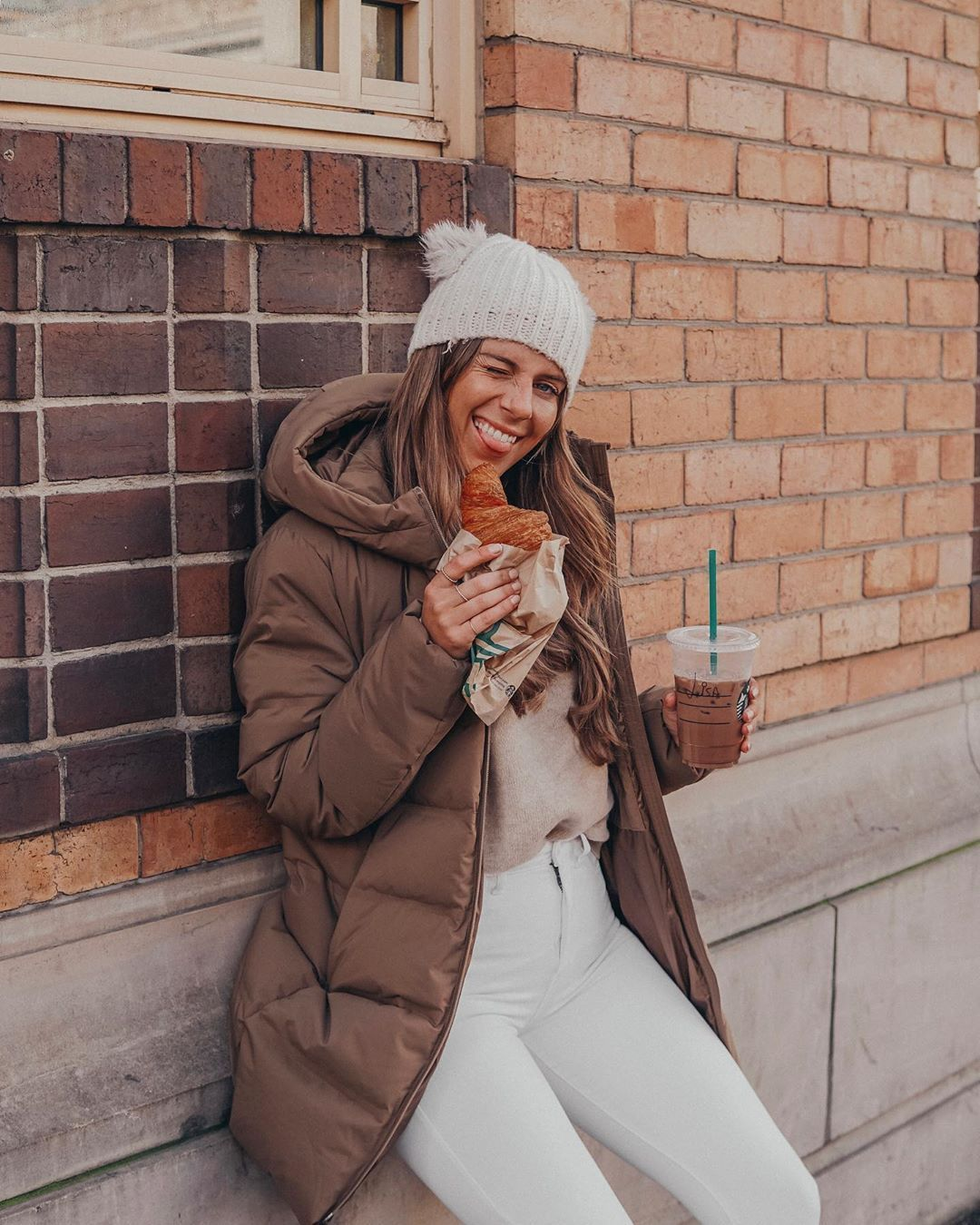 See Want Shop Fashion Blogger Winter Outfit UNIQLO