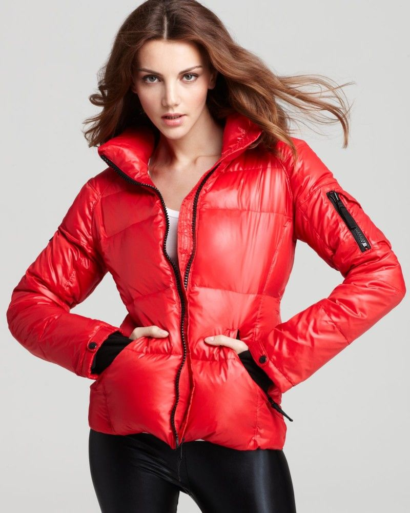 65ca89316 sam-red-freestyle-down-coat-with-stand-collar-product-1-13181632 ...