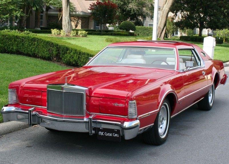 1976 Lincoln Mark IV Lipstick | MJC Classic Cars | Pristine Classic Cars For Sal…