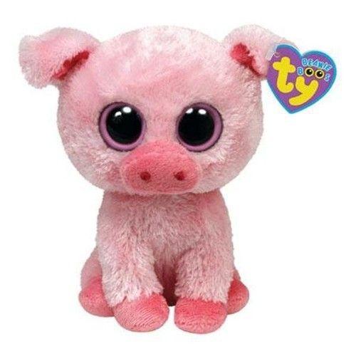 cf3cb612657 Ty Beanie Boo s Baby Pig Pink Eyes