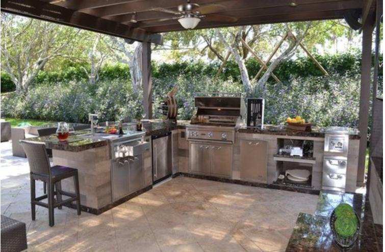 Outdoor Kitchen Design Tips Gazebos Casas Decoracao De Casa