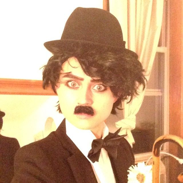 #halloween #newyork #miss #charliechaplin #actress #model #fun #transformation #love #play
