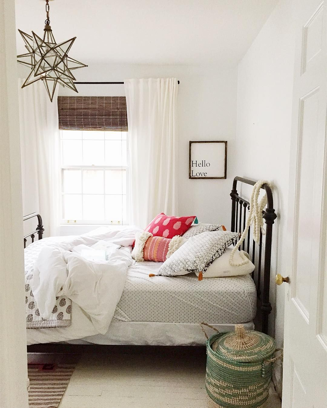farmhouse bedroom | inspirational spaces | pinterest | bedrooms
