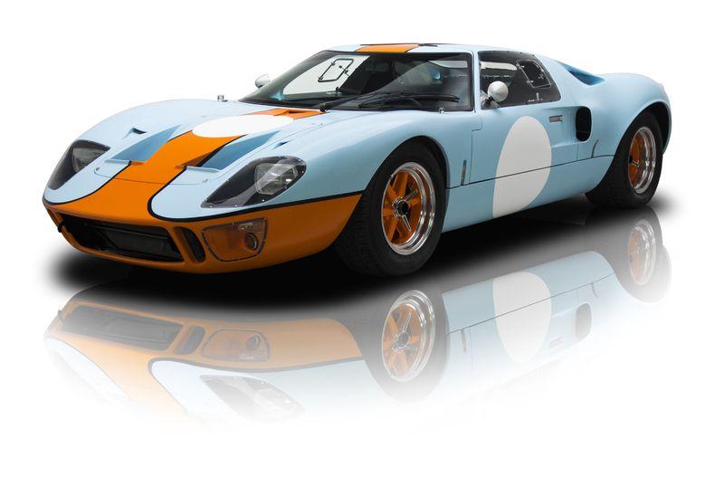1966 Ford Superformance GT40 MK 1 Light Blue