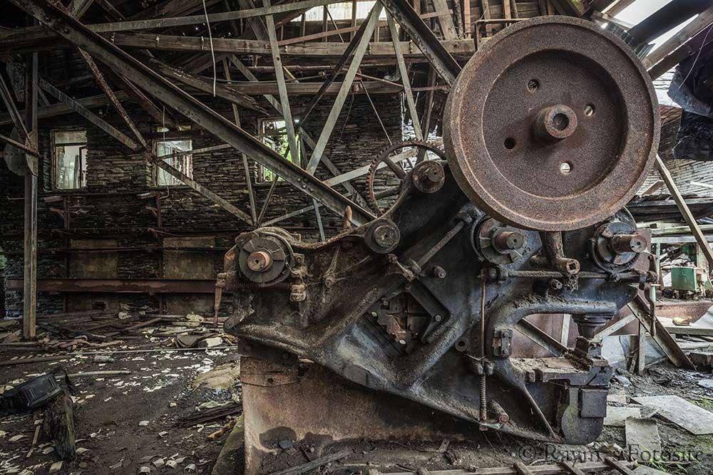 Slate Factory,urbex,leisteen fabriek,dakpannen,verlaten