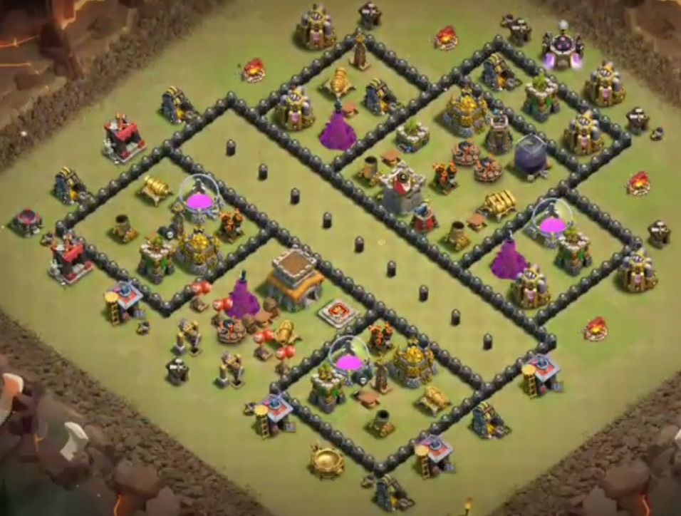 32 Best Th8 War Base Links 2021 New Anti Dragons War Clas Of Clan Clan Castle