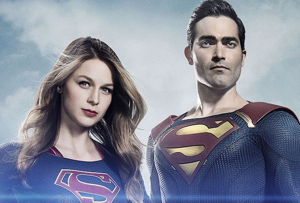 Superman on Supergirl: First Look at Tyler Hoechlin as the Man of Steel