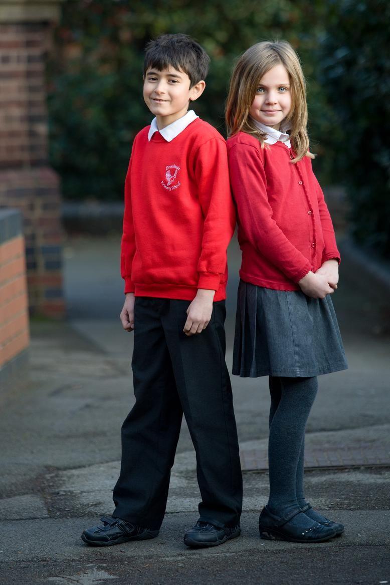 Red School Uniforms