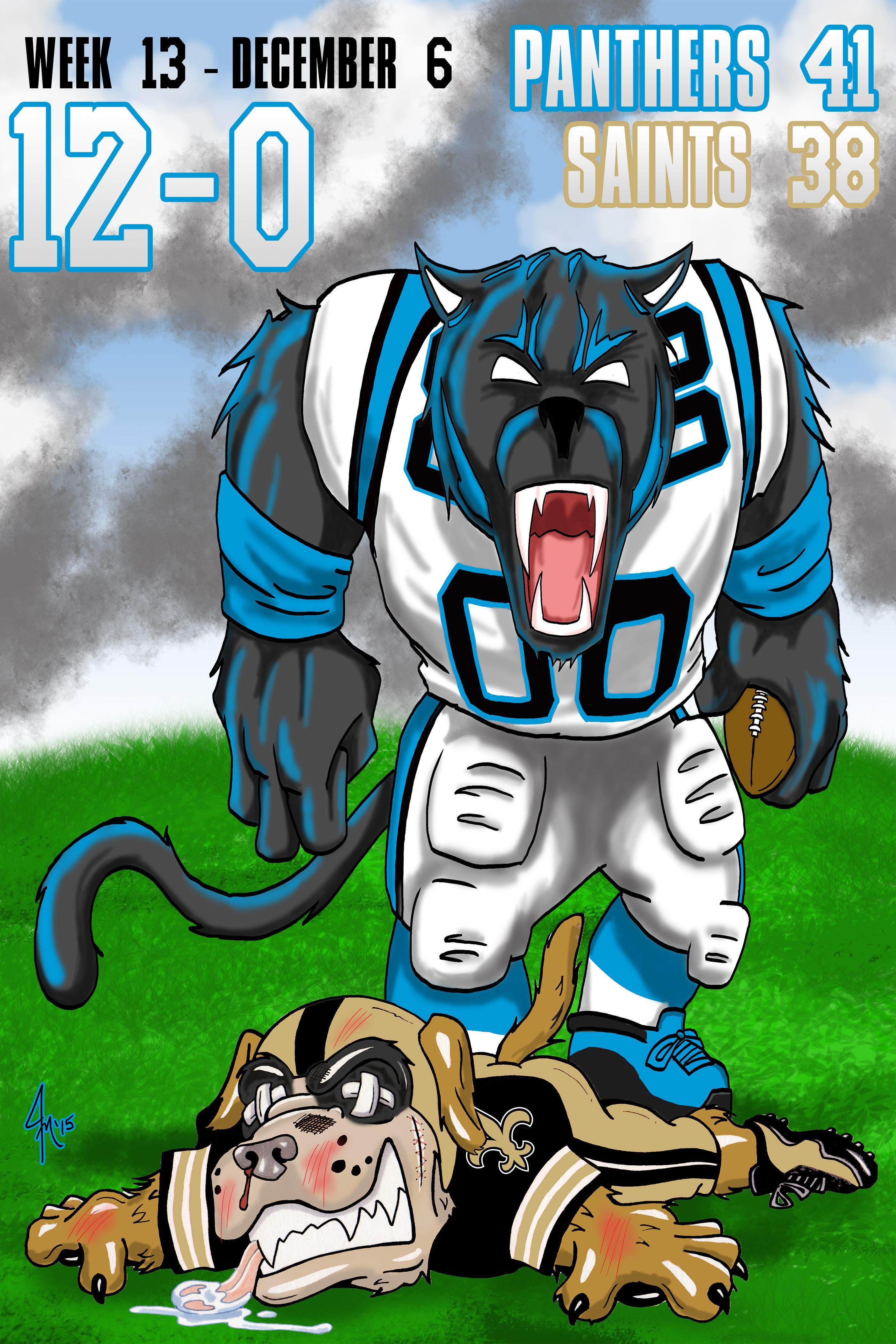 Carolina Panthers vs. New Orleans Saints Carolina