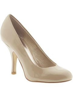 Can't go wrong with a pair of nude pumps. These ones from Chinese Laundry have a bit of shine and match my skin tone perfectly!