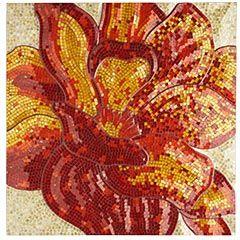 Poppy Mosaic Wall Panel