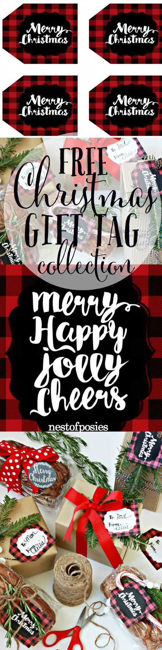 Free printable christmas gift tag collection perfect for gifts free printable christmas gift tag collection perfect for gifts baked goods and even to negle Images