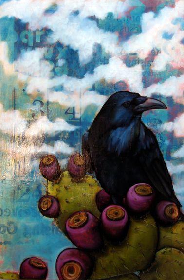 Crows Ravens:  #Raven ~ Gallery « Brice Mccasland Art.