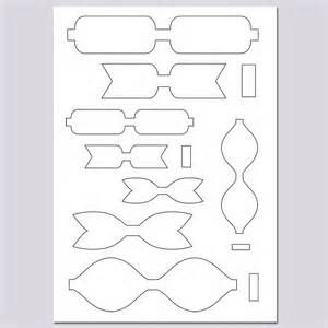 Amazing image inside free printable hair bow templates