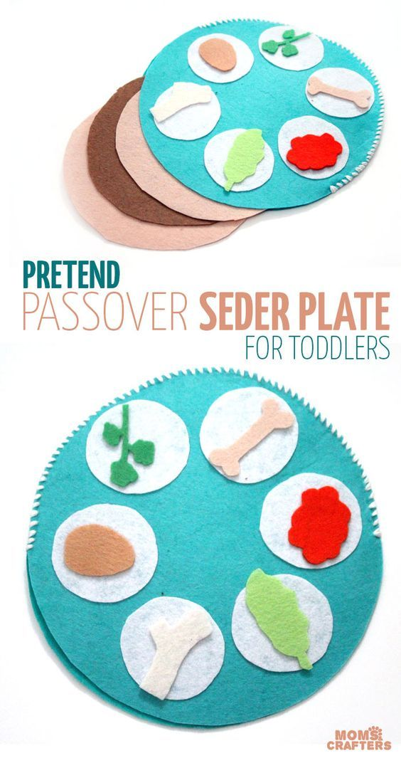 Make A Pretend Play Seder Plate Early Learning