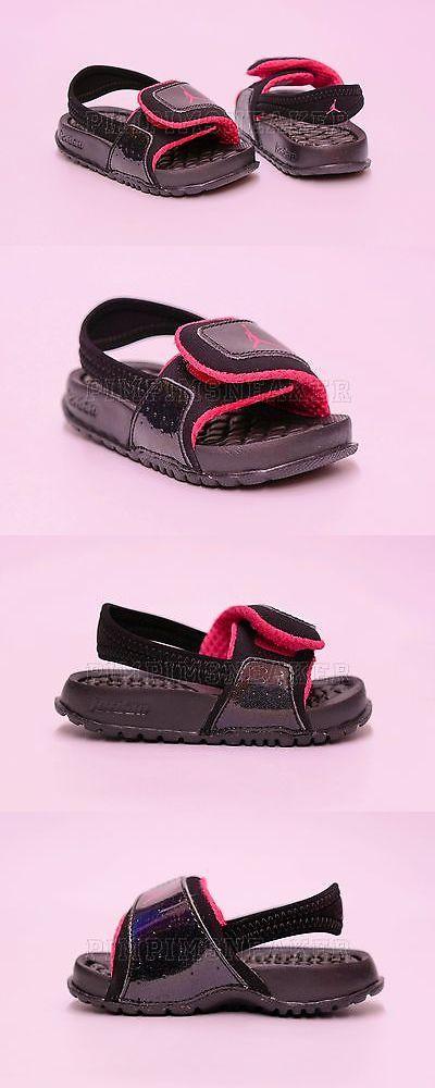 42ca6b17bd459c Baby Shoes 147285  Infant Toddler Jordan Hydro 2 Sandal Black Pink 487574  009 -  BUY IT NOW ONLY   35 on eBay!