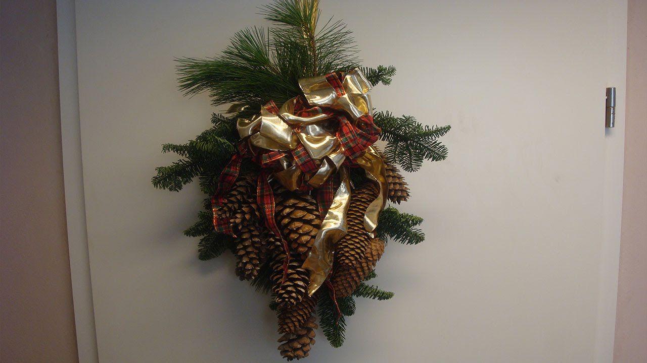 t rschmuck weihnachtsdeko selbstgemacht christmas decorations diy gr dini n miniatur. Black Bedroom Furniture Sets. Home Design Ideas