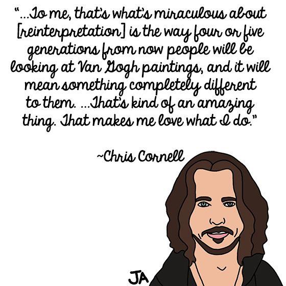 Chris Cornell Talks Longevity In Illustrated Form Chris Cornell