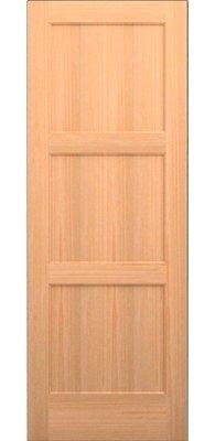 Karona Door Panelled Solid Manufactured Wood Primed Standard Door Species Knotty Alder Size 24 In 2020 Sliding Mirror Closet Doors Glass French Doors Doors Interior