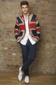 Union Jack Jacket X Design (I find the jacket very catchy)