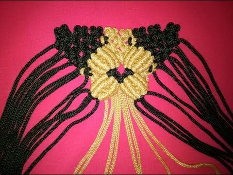 Youtube Bracelet Tutorial Macrame Bag Crafts