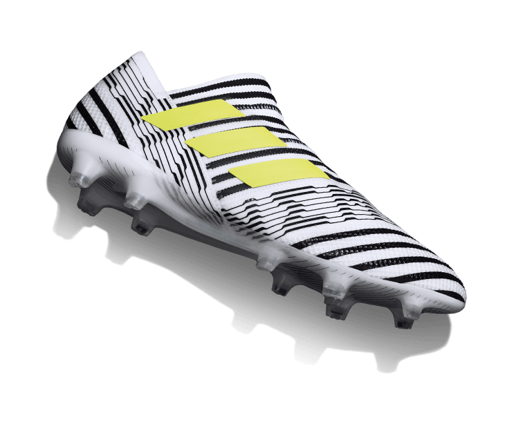 New Bring Devastating Precision And Agility With Nemeziz 17 As Worn By Lionel Messi Available Now At Worl Football Boots Football Shoes Soccer Cleats