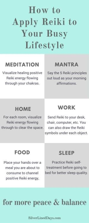 Busy lifestyle? Apply simple and effective Reiki self-healing techniques throughout your day for more peace & balance! reiki healing | reiki energy | chakras | metaphysical | alternative medicine by rosebud2
