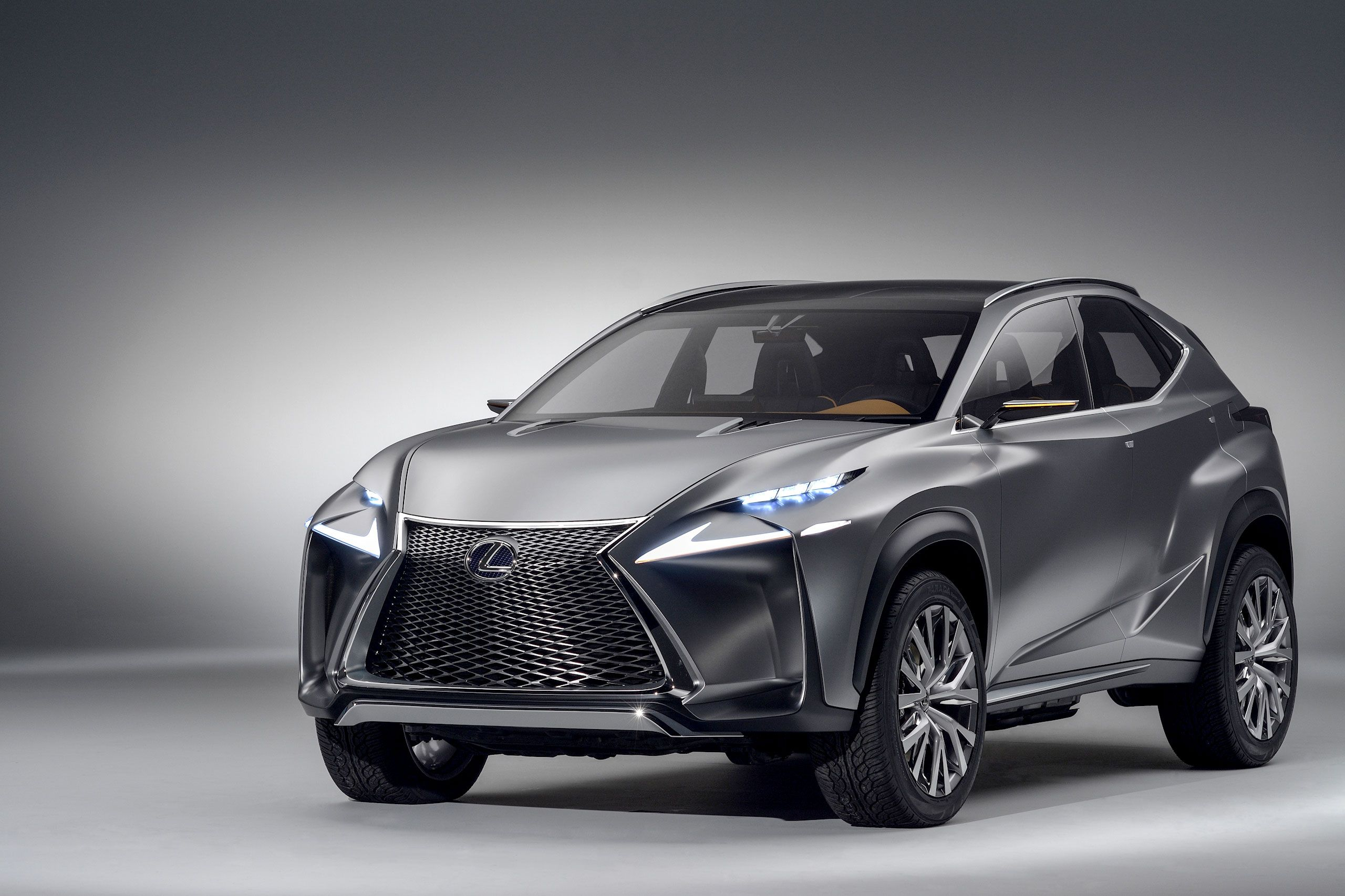 Lexus lf nx compact crossover concept hd wallpaper