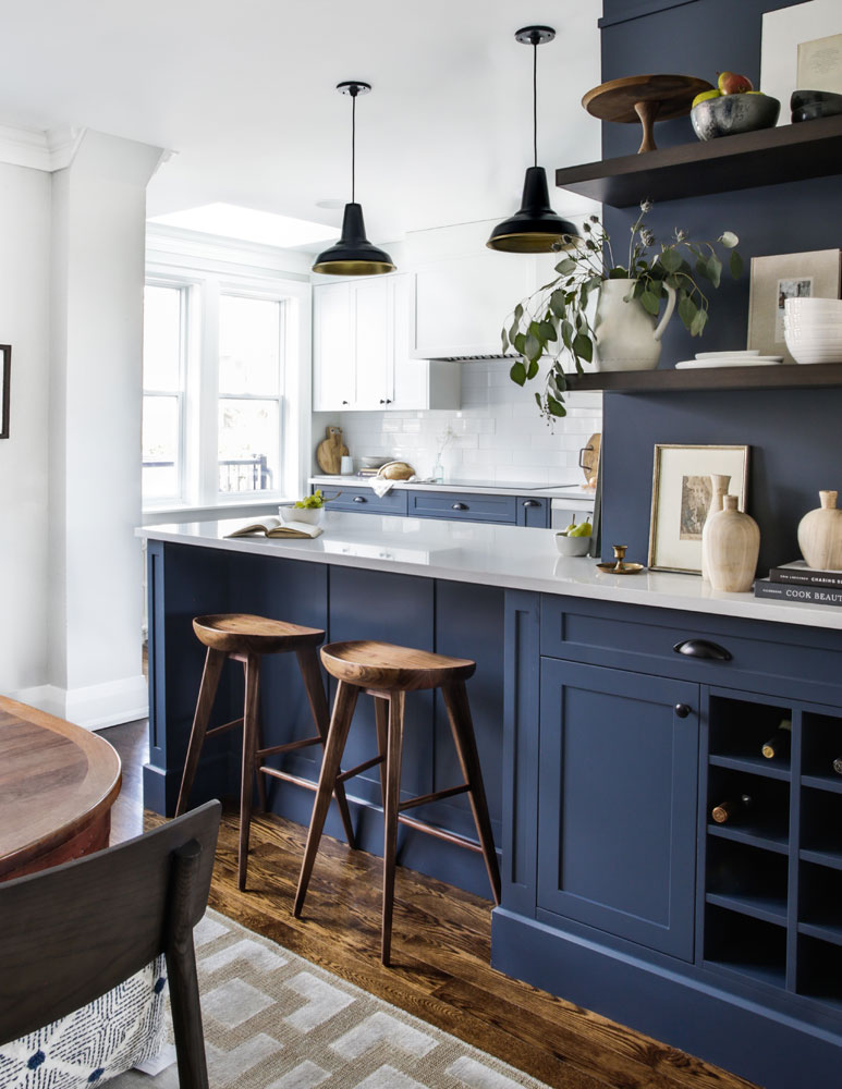 15 gorgeous dark blue kitchen designs you ll want to re on awesome modern kitchen design ideas recommendations for you id=19059