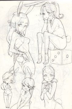 Image Result For Full Body Reference Anime Art Reference Poses Character Art Anime Sketch
