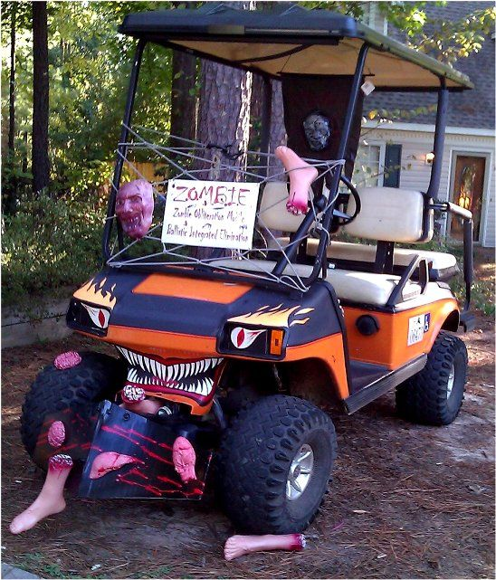 My Z.O.M.B.I.E. Monster Golf cart.   Golf Cart in 2018   Pinterest on