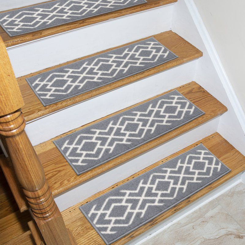 Best Arette Stair Tread Stair Treads Black White Stairs 400 x 300