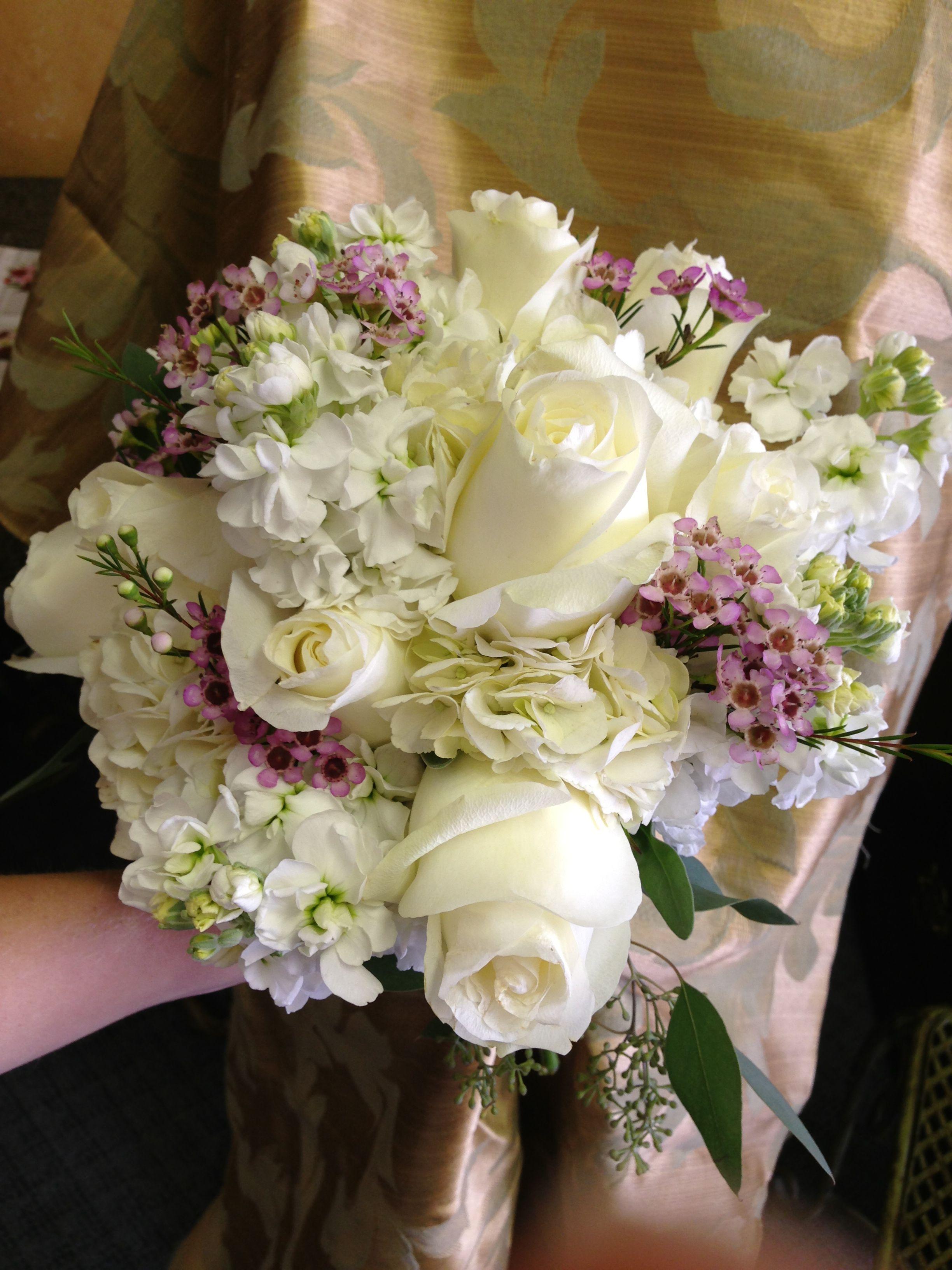 Bridal Bouquet Designed By Ann S Flowers Yukon Ok Bouquet Design Floral Wreath Bridal Bouquet