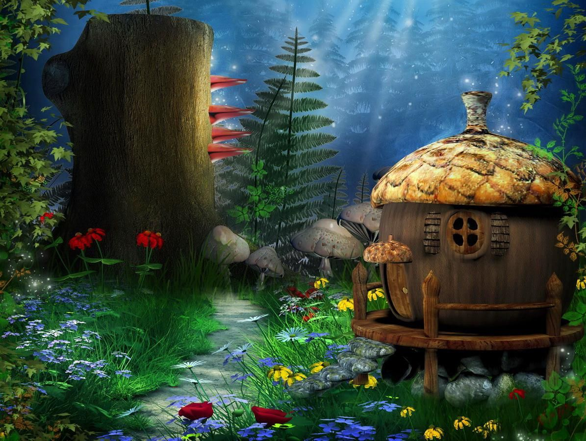 Http Hqwallbase Com Images Big Fairytale House 1583925 Jpg Fairy Wallpaper Fairytale House Wallpaper Backgrounds