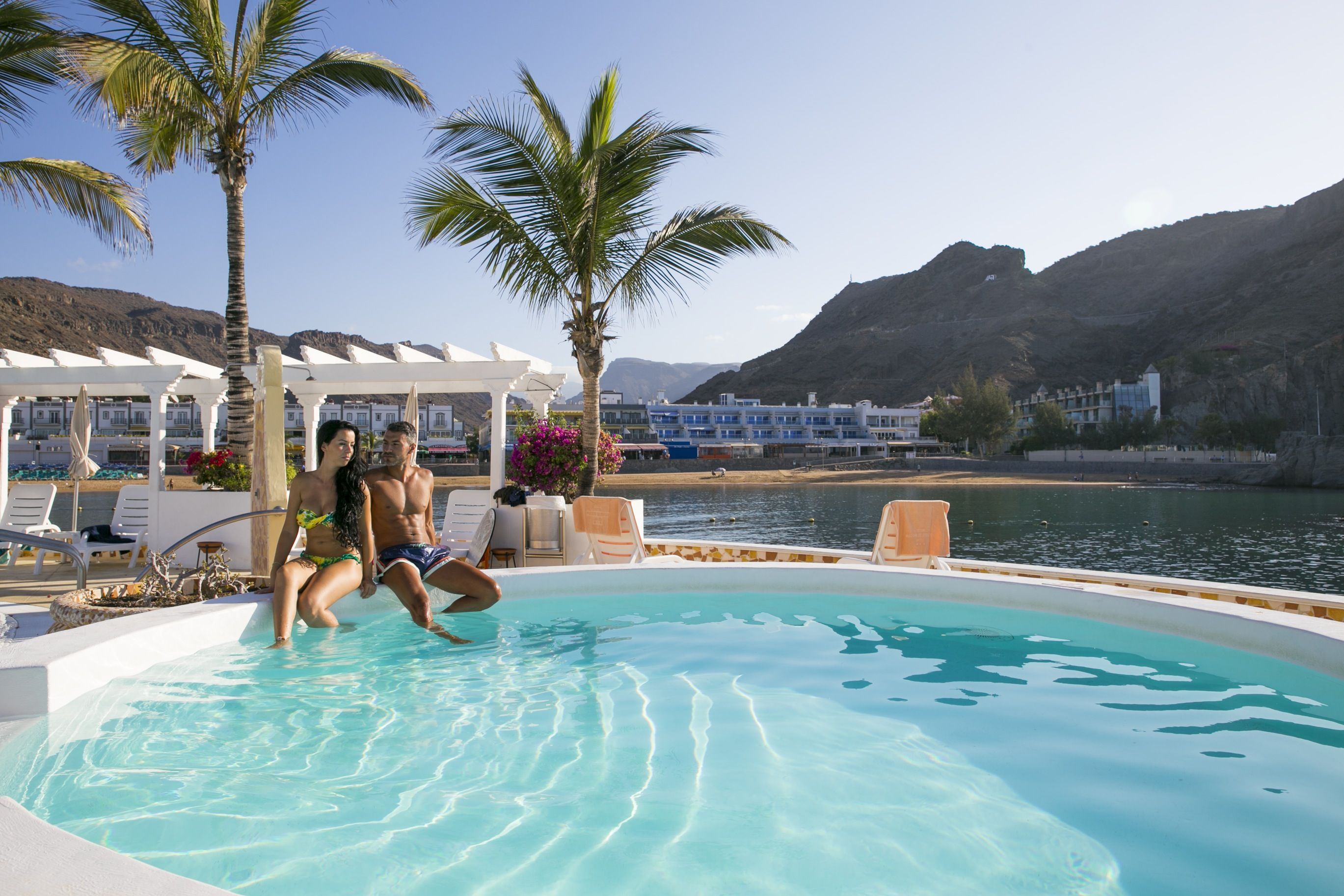 THe Hotel Puerto de Mogán swimming pool www.totalhotelexperience.com Gran Canaria, Canary islands. Spain