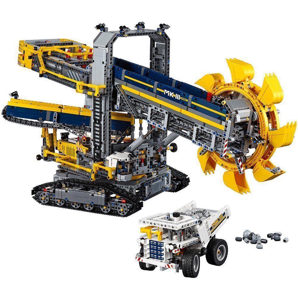 Lego Technic Bucket Wheel Excavator 42055 Construction Toy Brand New Lego Technic Sets Lego Bucket Lego Technic