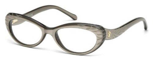 51a897da45 Roberto Cavalli Eyeglasses D Arros RC0778 0778 057 Grey Gold Optical Frame  53mm