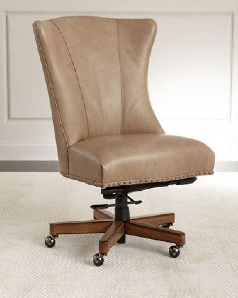 2018 Distressed Brown Leather Office Chair Contemporary Home Furniture Check More At Http