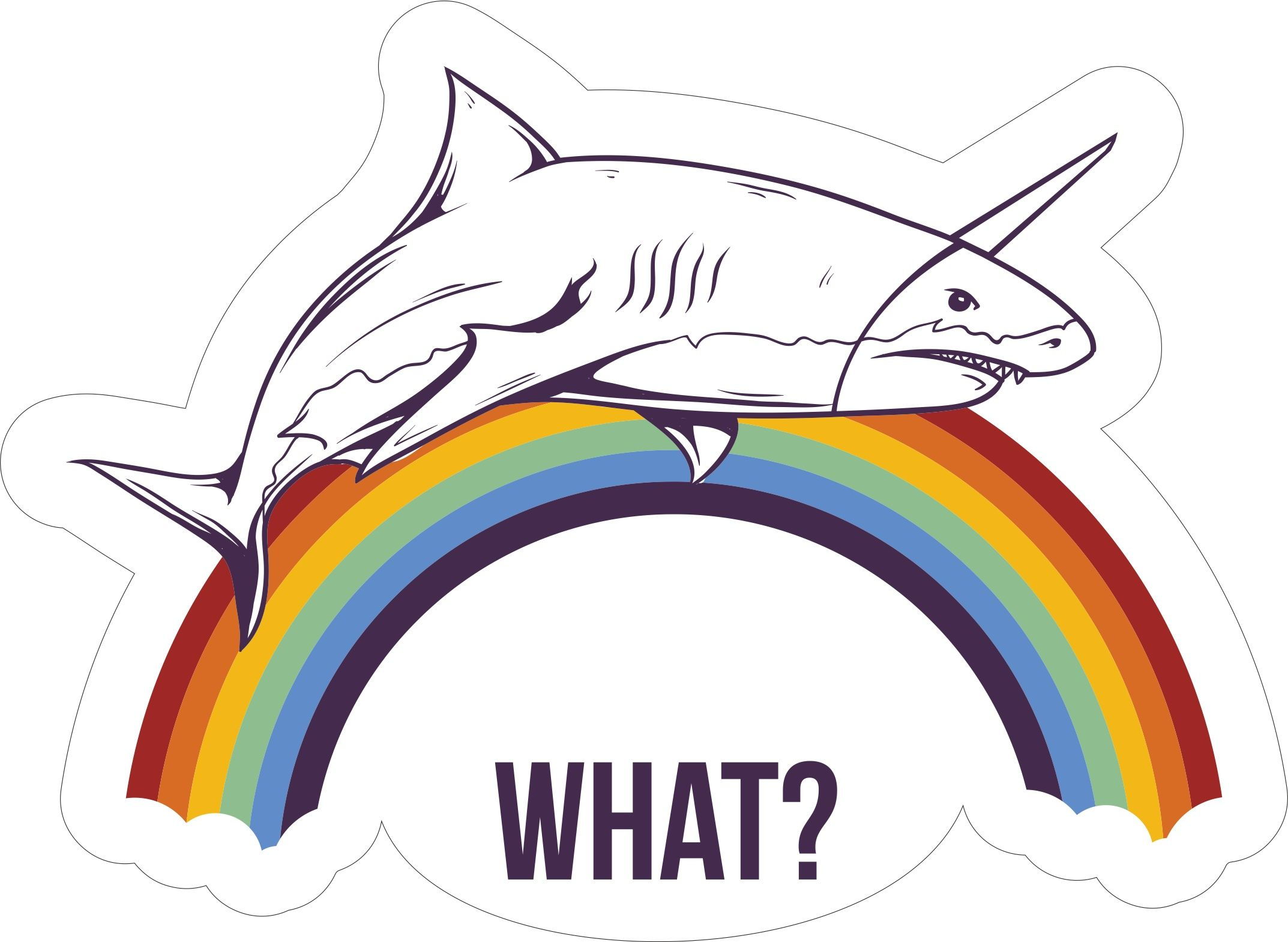 What Shark Sticker Free Vector cdr Download in 2019 | FREE T-Shirt